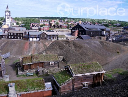 Røros Mining Town and the Circumference